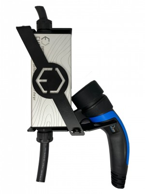 Wall holder for portable charger EVELINE Max
