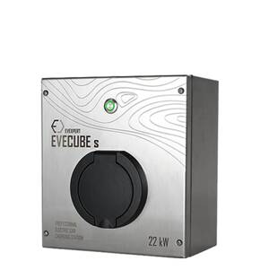 EVECUBE S - 22kW AC charging station (Smart WebServer  + RFID + WiFi)