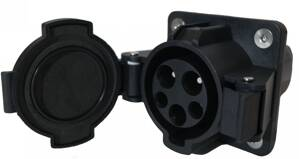 EV Charging Socket TYPE 1 male (car-side) 32A - 7,4kW